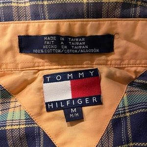 Plaid Tommy Hilfiger Button Up SS